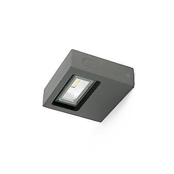 Faro - Taima mørk grå ledet utendørs veggen lys FARO71388