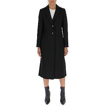 Barena Venezia Csd19054080590 Women's Black Cotton Coat