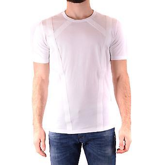 Diesel Sort Guld Ezbc065031 Mænd's Hvid Bomuld T-shirt