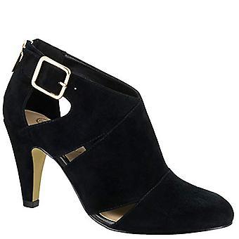 Bella Vita Womens Nicolina Leather Closed Toe Ankle Strap Classic Pumps