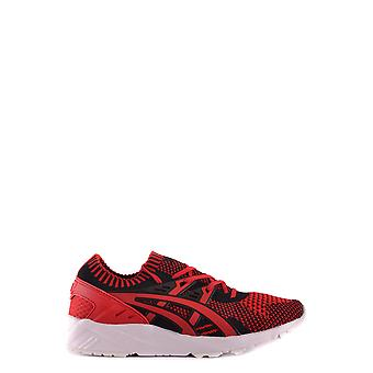 Asics Ezbc168010 Herren's Rote Stoff Sneakers