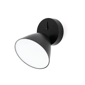 Faro - Flash sort LED væg lys FARO20204