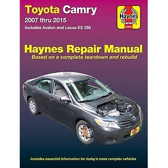 Toyota Camry - Avalon - Lexus ES350 Automotive Repair Manual - 2007-15