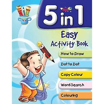 5 in 1 Easy Activity Book by Pegasus - 9788131934760 Book