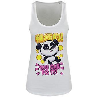 Handa Panda Ladies/Womens You Can Do It Floaty Tank