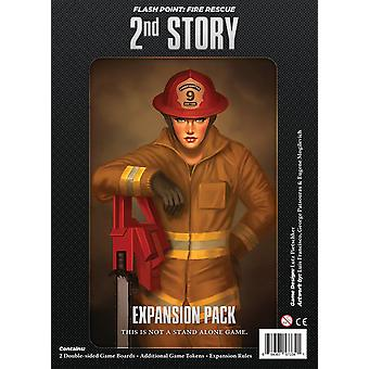 Flash Point Fire Rescue 2nd Story Expansion Pack for Board Game
