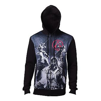 Assassins Creed Live The Creed Hooded Zip Multicolour X-Large (HD132046ASC-XL)