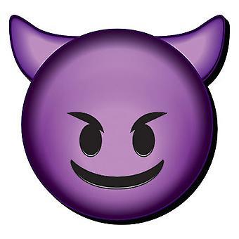 Paholaisen emoji Funky paksu Magnet