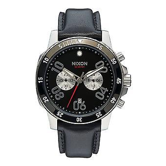 Nixon Ranger Chrono Leder schwarz (A940000)