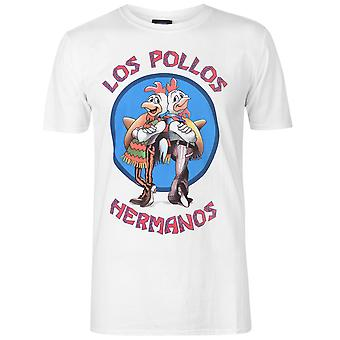 Character Mens Breaking Bad T Shirt Crew Neck T-Shirt Tee Top