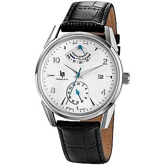 Lip himalaya 40 auto reserve marche watch for Men Analog Automatic with Cowhide Bracelet 671247
