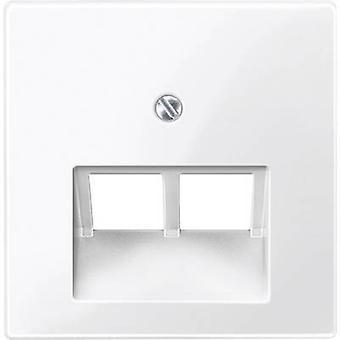 Merten Cover UAE socket System M, 1-M, M-Smart, M-Plan, M-Creativ Polar white glossy 296119