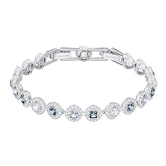 Swarovski Angelic Square bracelet - blue - rhodio plating