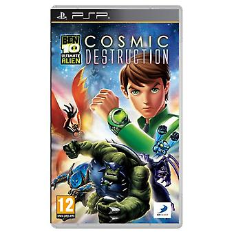 Ben 10 Ultimate Alien Cosmic Destruction (PSP)-fabriek verzegeld
