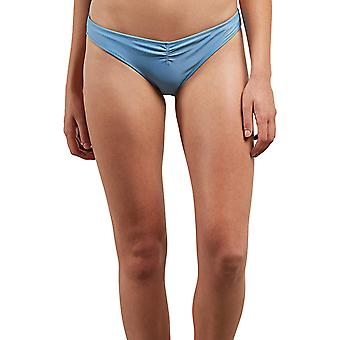 Volcom Junior's Women's Simply Solid V Beach Pant Bikini Bottom, Sandy Indigo...