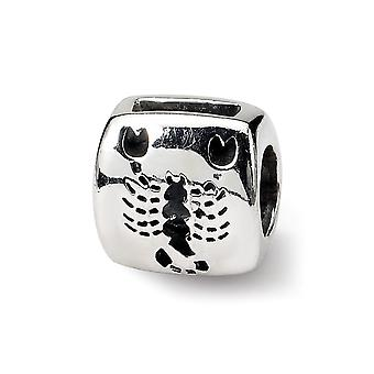 925 Sterling Silver Polished Reflections Scorpio Zodiac Bead Charm Pendant Necklace Jewelry Gifts for Women