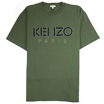 T-shirt met logo print, Kenzo mesh