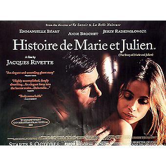 Histoire De Marie Et Julien Original Cinema Poster