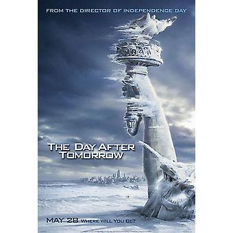 Dagen efter i morgon (dubbelsidig Advance Snow) original Cinema affisch