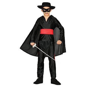 Garçons bandit masqué héros Zorro Déguisements costume