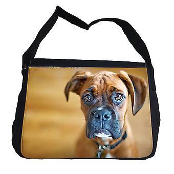 Boxer Hond tas met schouderriem-schoudertas