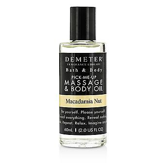 Demeter Macadamia Nut Massage & Body Oil - 60ml/2oz