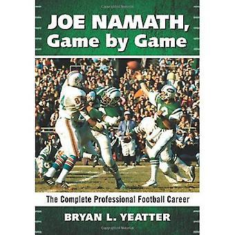 Joe Namath, jogo a jogo