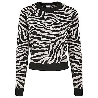 Urban Classics Women's Sweatshirt Short Tiger