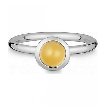 טבעת קווין-כסף עם סיטרין-021832611