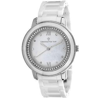Christian Van Sant Women's Clay Mother of Pearl Dial Watch - CV3214