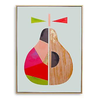A Slice Of Pear Framed Print