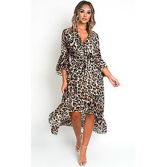 IKRUSH Womens Jenni Printed Maxi Dress