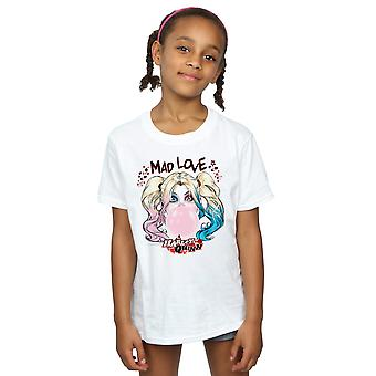 DC Comics Girls Harley Quinn Mad Love T-Shirt