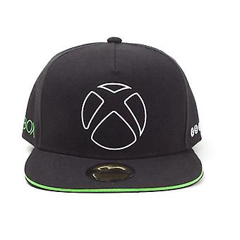 Microsoft Xbox - Ready to Play Snapback Baseball Cap Unisex Black/Green