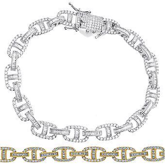 Bracelet Premium Bling Sterling Silver - G-LINK 10mm
