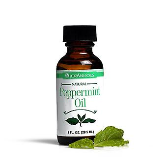 Lorann natural flavoring oils, natural peppermint oil, 1 oz