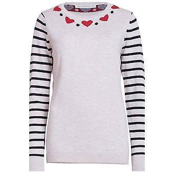 Sugarhill Boutique Heart Sweater