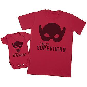My Daddy The Super Hero - Mens T Shirt & Baby Bodysuit