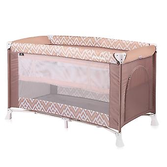 Lorelli baby travel cot Verona running stable, carrying bag, 2 levels side opening