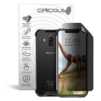 Celicious Privacy Plus 4-Way Anti-Spy Filter Screen Protector Film Compatible with Blackview BV9600 Pro