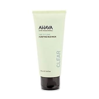 Ahava Time To Clear Purifying Mud Mask - 100ml/3.4oz