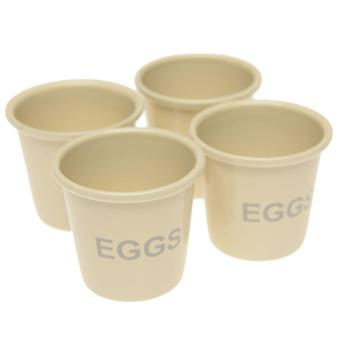 Stanford Home Unisex 4pk Bucket Egg Cup 94