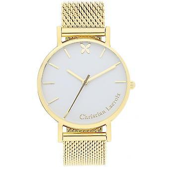 Uhr Christian Lacroix Uhren CLFH1807 - Armband Mailänder Dor-Frau ansehen