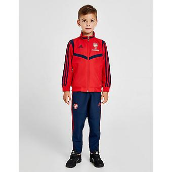 New adidas Boys' Arsenal FC Tracksuit Red