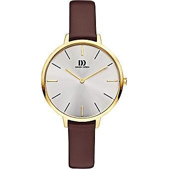 Dansk Design damer analoge kvarts watch med Lær band IV15Q1180