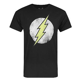 Jack Of All Trades Flash Distressed Dot Logo Men's T-Shirt