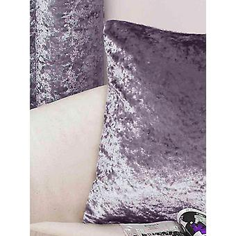 Belle Maison Cushion Cover, Crushed Velvet Range, Amethyst