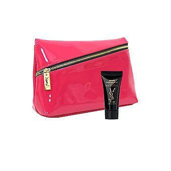 YSL YvesSaintLaurent Yves St. Laurent Make up Purse Pink and YSL Instant Moisture Glow 5ml