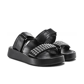 Ash Leather Victory Chunky Sandals