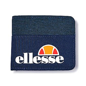 Ellesse Heritage Margo Bifold Wallet Holiday Money Coin Note Purse Navy Blue